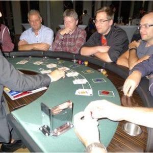 Casinoabende für das Teambuilding