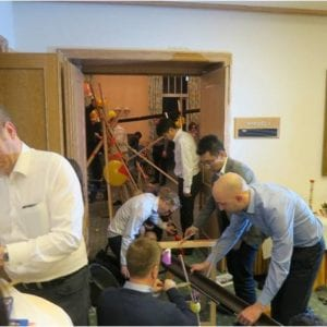 Kettenreaktion Event zum Teambuilding