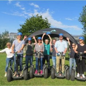 Segway-Touren als Teamevent